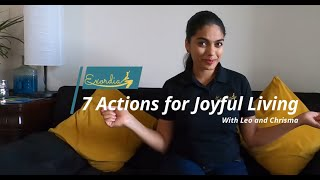 Welcome to 7 actions for Joyful Living
