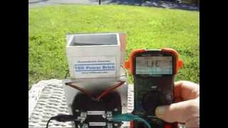 TEG Power Brick in solar application - Thermoelectric generator