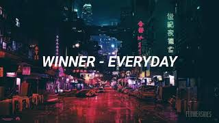 Winner - Everyday (Easy Lyrics)