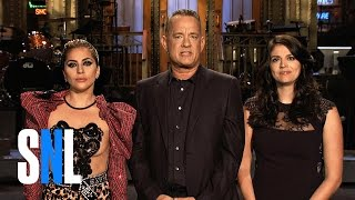 Tom Hanks and Lady Gaga Are Bringing Glam Rock to SNL