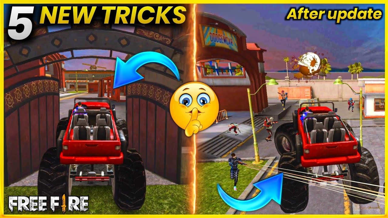 Download Top 5 New Tricks In Free Fire   New Bug In Training Mode   New Bug And Glitches In Free Fire