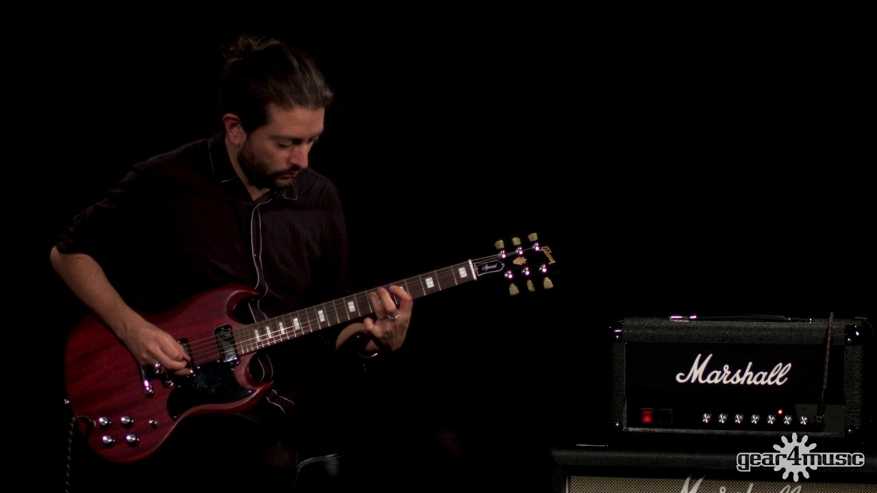 Gibson SG Special 2018, Satin Cherry | Gear4music demo