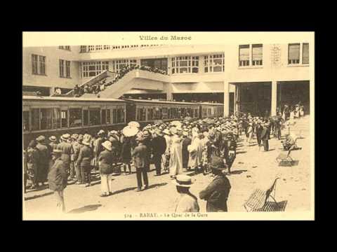 Rabat 1920 à 1950 Maroc
