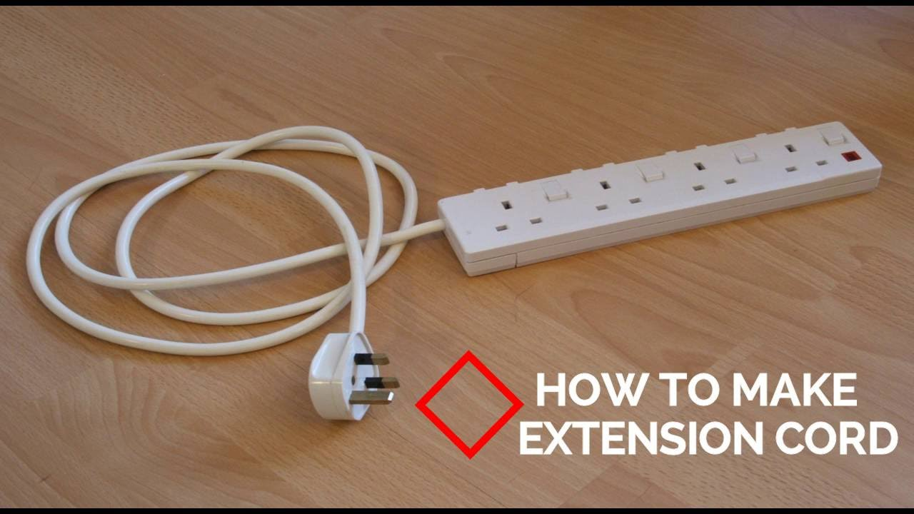 how to make extension cord youtube extension cord ground adapter extension cord wiring adapters [ 1280 x 720 Pixel ]
