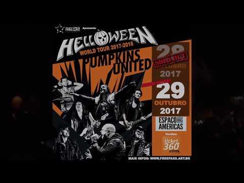 HELLOWEEN Pumpkins United World Tour - Espaço das Américas - São Paulo 10/2017 (HQ audio)
