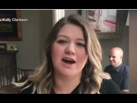 Kelly Clarkson Facebook Live Concert From Her House