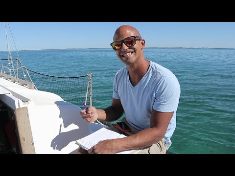 all ELECTRIC sailboat motor range test and Bahamas grocery shopping 50 Sailing Saoirse