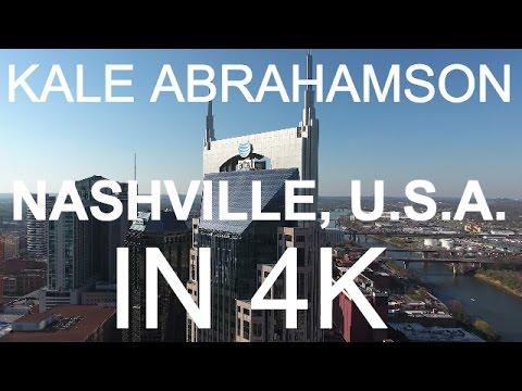 NASHVILLE, U.S.A. IN 4K!  SHOT ON THE NEW DJI PHANTOM 4!