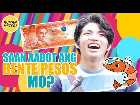 Filipinos Answer Tricky Questions Tagalog: Saan Aabot Ang Bente Pesos Mo? | HumanMeter