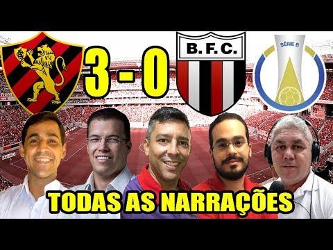Todas as narrações - Sport 3 x 0 Botafogo-SP / Brasileirão Série B 2019