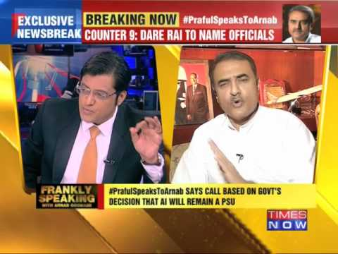Frankly Speaking with Praful Patel - 1