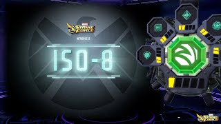 What is Iso-8 in Marvel Strike Force?
