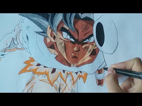 Live Dessin Goku Ultra Instinct On Le Termine