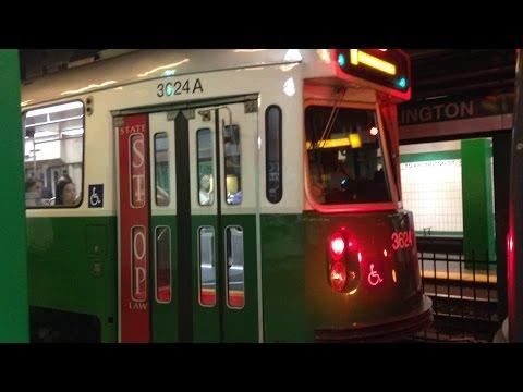 MBTA Green Line Light Rail Runbys 7/11-16/16 HD