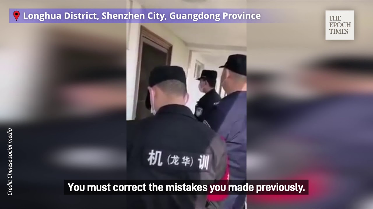 Chinese Police Warn Residents Not to Spread Information about Coronavirus on Internet |#Coronaviru -