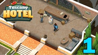 TUSCANY HOTEL - STORY WALKTHROUGH - PART 1 GAMEPLAY