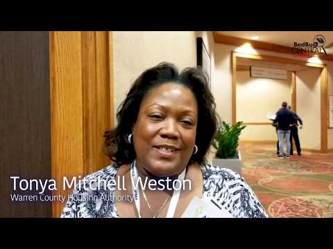 Global Bed Bug Summit - Tonya Mitchell-Weston