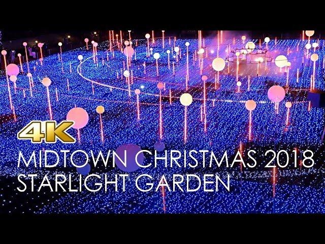 [4K]Christmas Lights of Roppongi -Tokyo Midtown Illumination 2018