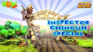 Inspector Chingam Special - Compilation Part 1 - 30 Minutes of Fun! As seen on Nickelodeon