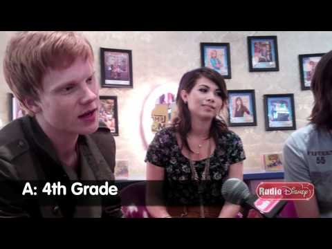 """Adam Hicks Video Quiz With Cast Of Disney Channel's """"Lemonade Mouth"""" And Ernie D"""