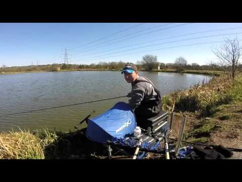 Small Fish Feeder Fishing At The Cefn Mably Lakes Complex!
