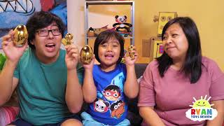 The Grand Prize winner of the Gold Mystery Egg is.....