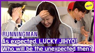 [HOT CLIPS] [RUNNINGMAN] RAW eggs random choice?! Don't worry she is JIHYO!🍀 (ENG SUB)