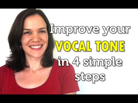 Improve your vocal tone in 4 simple steps - Singer's Secret - Nicola