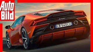 Lamborghini Huracán Evo (2019) Erste Fahrt / Test/ Review