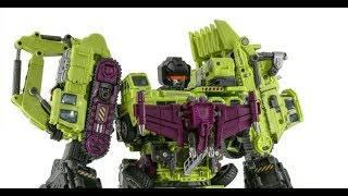 Jinbao Transformers Defermation 3 Destroy Force Giant aka Devastator Hercules
