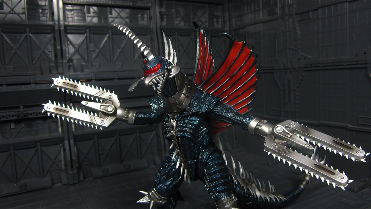 SH MonsterArts Gigan - YouTube