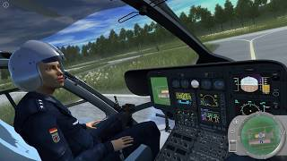 Police Helicopter Simulator #2 - Riot in nearby Town