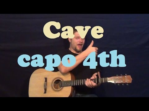 Cave (Mumford & Sons) Easy Guitar Lesson Strum Chords How to Play ...