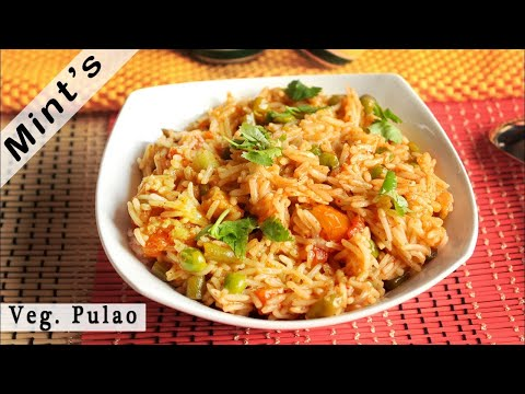 Simple vegetable pulao recipe in hindi veg pulao vegetable pulao recipe video in hindi forumfinder Images