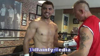 VICTOR ORTIZ RIPPED FOR SEPTEMBER 30 ON FS1; CRACKS THE MITTS FOR JONH MOLINA