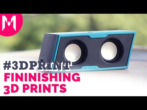 How to finish 3D printed parts - Production Look?