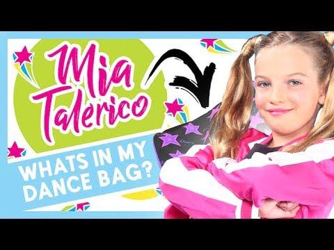 MIA TALERICO⎢What's In My Dance Bag?