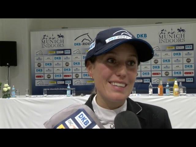 Janne Meyer Zimmermann -  Zweite der DKB Riders Tour