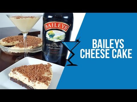 No Bake Baileys Cheesecake - How to make a Baileys Cheesecake - Recipe by Drink Lab (Popular)
