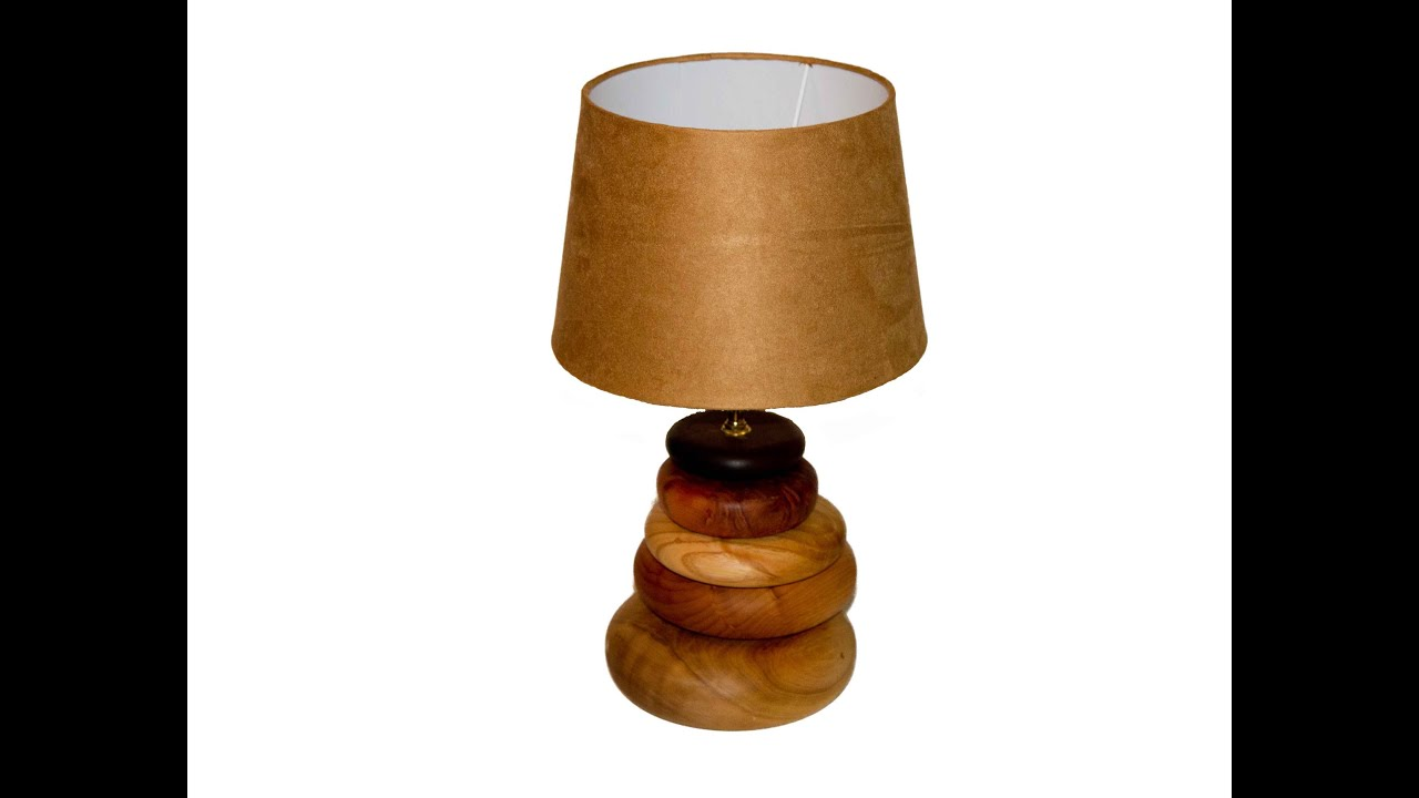 Wood Turning Lamp - YouTube for Turned Wood Lamp Shade  70ref