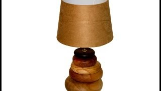 Wood Turning Lamp