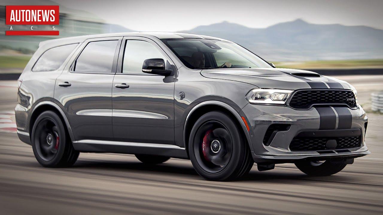 Dodge Durango (2021): самый мощный внедорожник в мире! Все подробности