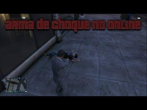 Como Ter a Arma de Choque no Online (Taser Gun) - GTA ...