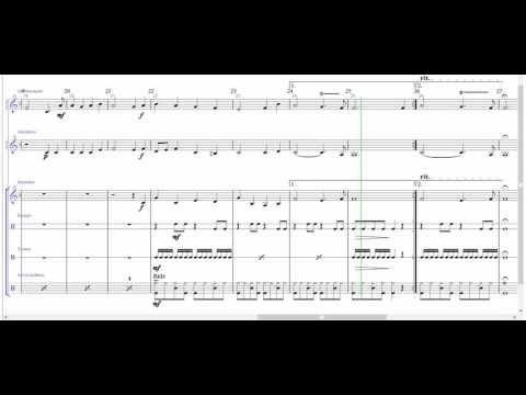 O Come, All Ye Faithful | Sheet Music for Percussions Ensemble