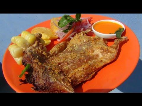 Receta de cuy frito como preparar cuy frito youtube - Como hacer pimientos verdes fritos ...