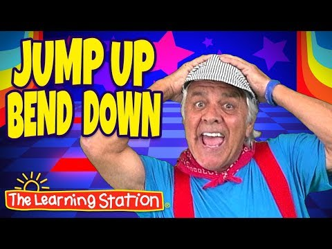 Jump Up, Bend Down ? Exercise Song for Kids ? Action Dance Song ? Kids Songs by The Learning Station