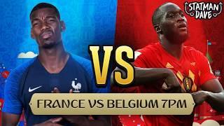 France 1-0 Belgium LIVE   Statman Dave Watchalong