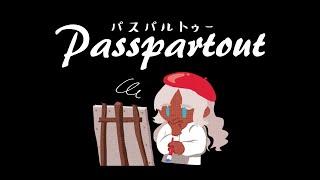 【#01/passpartout】服飾専門生、画家になる。【にじさんじ/轟京子】