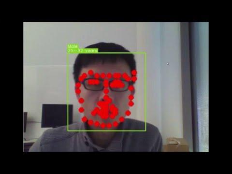 Face verification using deep face model