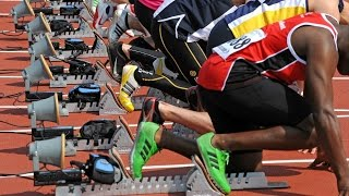 видео Подготовка в беге на 100 метров или в челночном беге (10х10 м; 6х30 м и т.п.)